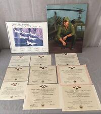 ORIGINAL Vietnam War Named US Army Commendation Medal Certificates Lot Rare