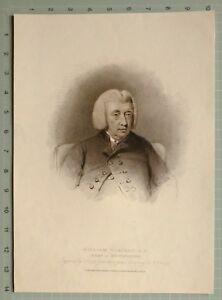 1810 Fecha Antigüedad Estampado William Vincent D. D Bean De Westminster