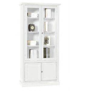 libreria vetrina ufficio soggiorno bianca | ebay - Vetrina Soggiorno Bianca