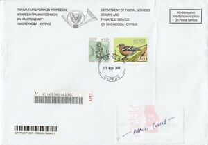 CYPRUS-REGISTERED-COMMERICAL-COVER-TO-MACAU-VIA-HONG-KONG-WITH-BIRD-THEME-STAMP