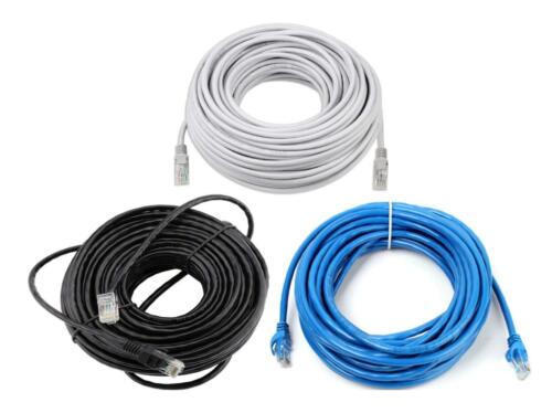 CAT5e RJ45 Ethernet Network High Speed LAN Patch Cable 1M to 15M