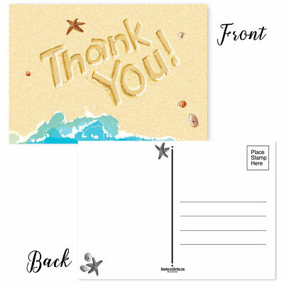 B17021 Thank You Postcards 50 Thank You Postcards