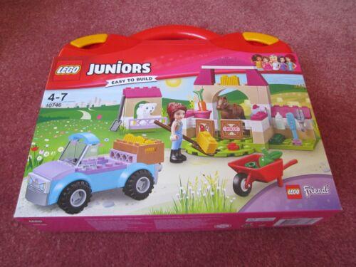 LEGO Juniors Mia/'s Farm Valise 10746-Nouveau//Scellé