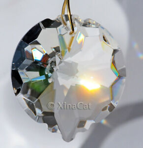 Stingray-Round-50mm-Austrian-Crystal-Clear-Prism-SunCatcher-2-inches