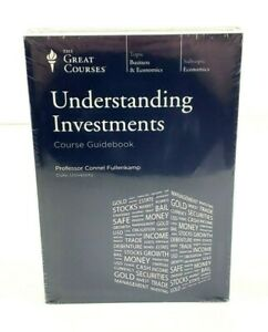 New Understanding Investments Dvds And Guidebook Great Courses Teaching Co 9781598038323 Ebay