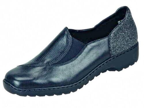 Rieker zapatos señora mocasines cuero talla 36-42 +++ nuevo ++++ l6064-03