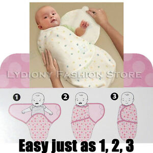 Infant Swaddle Sleeping Bag Blanket New Born Baby Candle Wrap