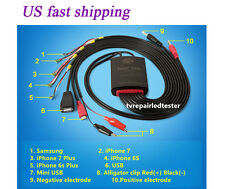 DC Current Power Supply Test Cable for iPhone 6S/6S Plus/7/7Plus Samsung Repair