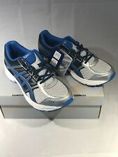 ASICS GEL Contend 4 GS Youth Silver/classic Blue/black Size 7