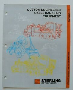 STERLING-Custom-Engineered-Cable-Handling-1986-dealer-brochure-English-USA