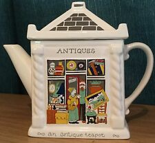 Wade English Life Teapots Antigua Shop Novelty Ceramic Collector Teapot