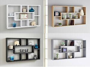 Stylish-Space-Saving-Floating-Wall-Shelves-Display-Shelf-Bookshelf-Storage-Unit