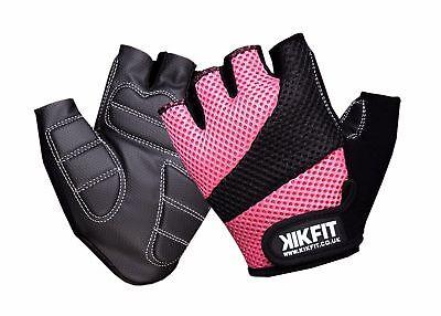 Aktiv Ladies Pink Gym Gloves Weight Lifting Fitness Workout Exercise Training Cycling Geeignet FüR MäNner, Frauen Und Kinder