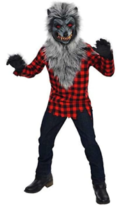 Hungry Howler Werewolf Halloween Costume For Boys Size