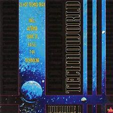 Techno World 1 (1991) invecchiamento 8, CUBIK 22, t99, Technoline, Interactive [CD DOPPIO]