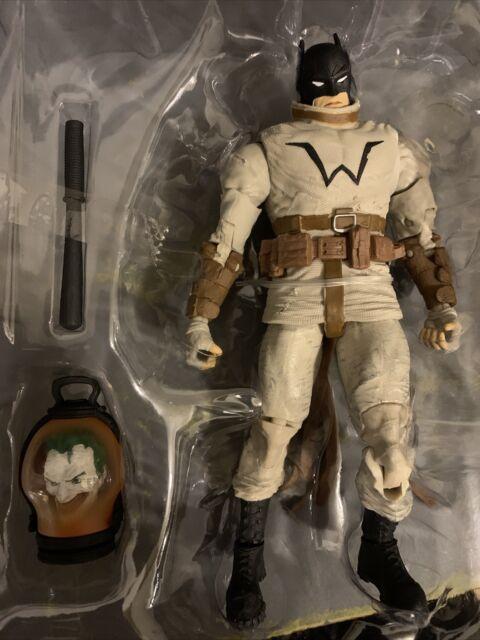 McFarlane DC Multiverse Batman with Joker Head NO BAF Last Knight on Earth LOOSE