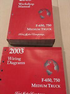 2003 Ford F-650 750 Medium Duty Truck Service Manual w/ Wiring Diagram |  eBay | Ford Medium Duty Truck Wiring Diagrams |  | eBay