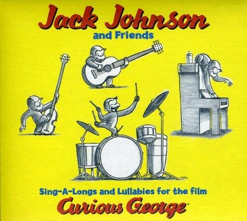 1 of 1 - Jack Johnson - Sing-A-Long & Lullabies for Curious George (Original Soundtrack)