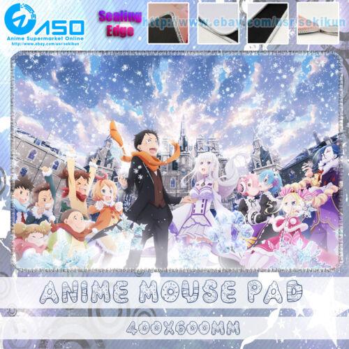 Anime Mouse pad Re Zero kara Hajimeru Isekai Seikatsu OVA Gaming Mouse mat pad