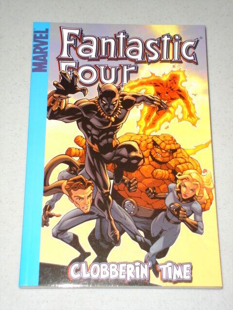 FANTASTIC FOUR CLOBBERIN TIME GRAPHIC NOVEL MARVEL BOOK 9780785117384