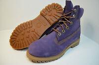 Timberland 6 inch womens 3203R Purple Premium Boots