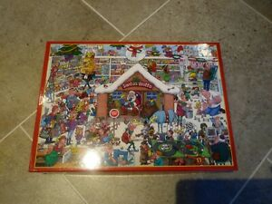 Jigsaw Babbo Natale Grotto 1000 PEZZI