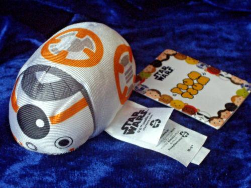 BB-8 Disney Tsum Tsum Véritable Jouet Doux en peluche BNWT Star Wars BB8