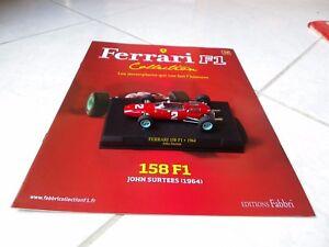 Ferrari-158-F1-John-Surtees-2-1964-1-43-F1-Ixo-Altaya-avec-fascicule