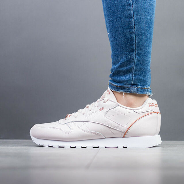 new arrive wholesale outlet best online WOMEN'S SHOES SNEAKERS REEBOK CLASSIC LEATHER HW [BS9880]