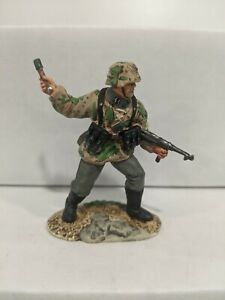 Conte-WWII-German-Waffen-SS-German-Soldier-Single-Pewter-Figure-No-Box-B