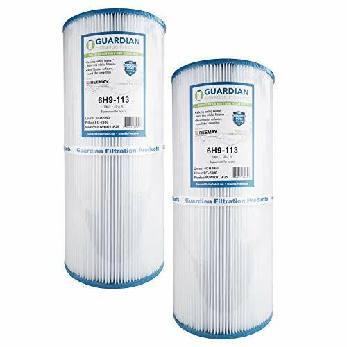 Portable SAE Course Thread Water Filter Cartridge for Pleatco Unicel & Filbur