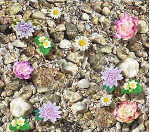 3D Stone flower sea 012 Floor WallPaper Murals Wall Print Decal 5D AJ WALLPAPER