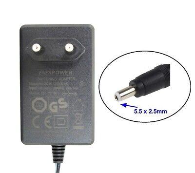 Enerpower Alimentatore 12v Dc Ue 3a Adattatore Gs (5,5/2,5 Mm) 36 Watt Fritzbox- Rinfrescante E Benefico Per Gli Occhi