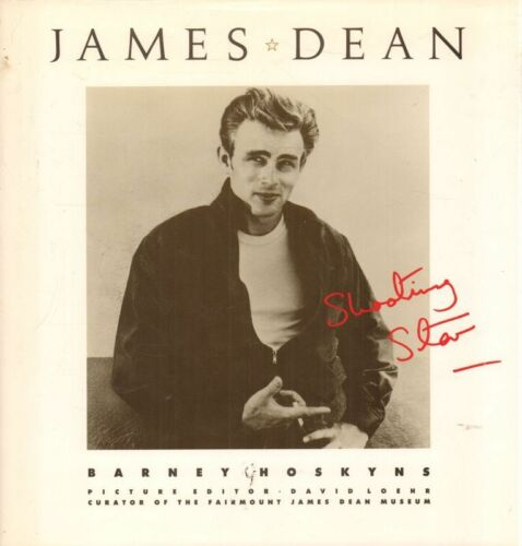 1 of 1 - James Dean Shooting Star(Hardback Book)Barney Hoskyns-Doubleday-US-VG
