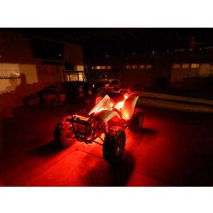 Red LED 4 Wheeler ATV Underglow 12v Custom LED Neon Accent Lighting 1/' Quad UTV