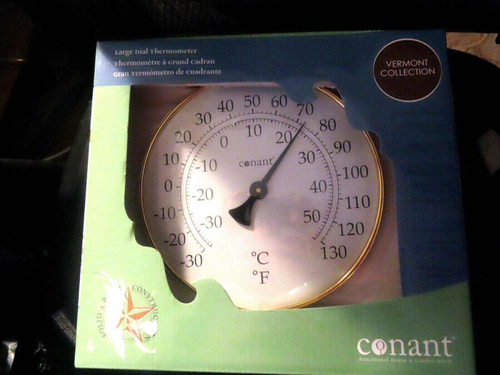 POTTERY BARN Dial Thermometer - 8.5