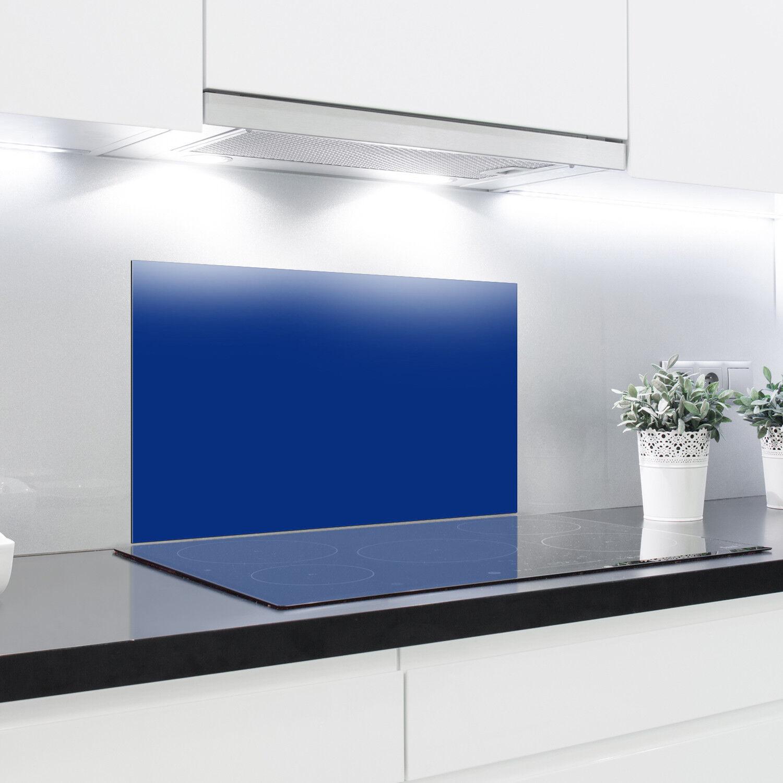 Splashback Vetro Temperato Resistente Al Calore Vetro Temperato decorativi – Blu Cobalto