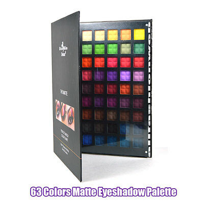 1 ITALIA DELUXE THE 63 MATTE COLORS PALETTE 2063 - FREE SHIPPING