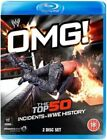 OMG Top 50 Incidents in WWE History 2 Disc 2014 Blu Ray EX