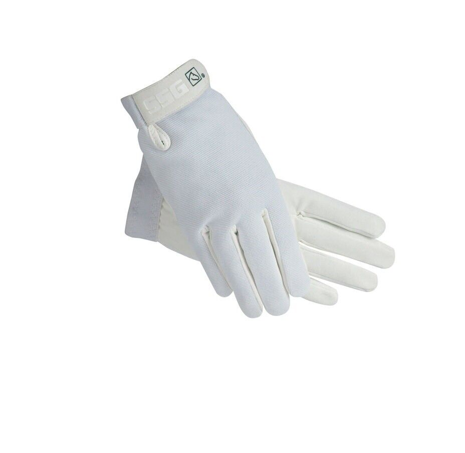 Image 1 - SSG All Weather Gloves For Horses High Quality White Size 8/9
