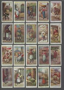 1916-John-Player-Cries-of-London-Tobacco-Cards-Complete-Set-of-25