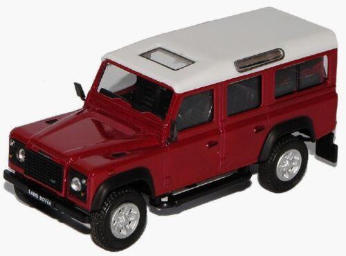 Cararama-nuevo en caja original Coche modelo land rover defender 90//109//110-1:43