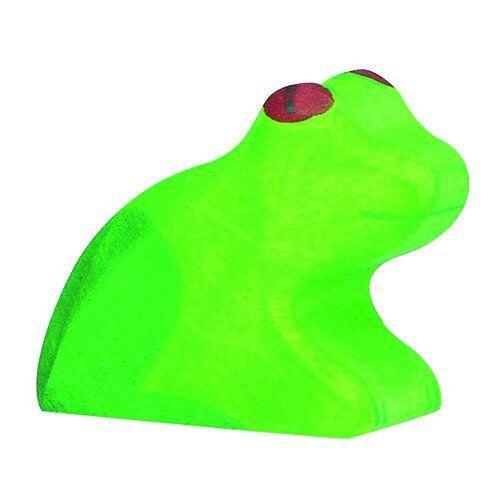 # Holztiger 80127 Frosch grün Holztier NEU