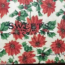 Candy Box Utah Food Sweet's Chocolate Salt Lake City UT 2 lb Christmas Empty Vtg
