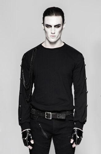 Punk Military Head Heads Transformable High Punkrave Gothic Felpa Death t7qfF