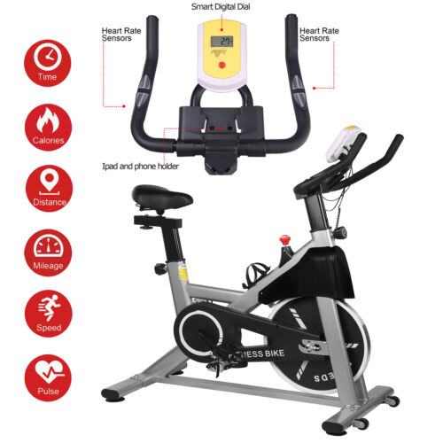 Spin Exercise Sport Bike Home Gym Bicycle Cycling Cardio Fitness Training Indoor
