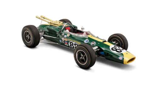 VINTAGE 1965 LOTUS 38 F1 FORMULA 1 RACE CAR POSTER PRINT 20x36