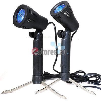 2 x Photograph Video Studio Table Top Tent Light Soft Box Lighting Kit Lamp