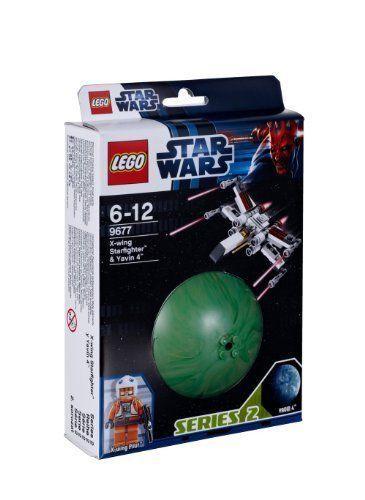 LEGO Star Wars PLANET SERIES  X-wing Starfighter & Yavin 4 (9677)