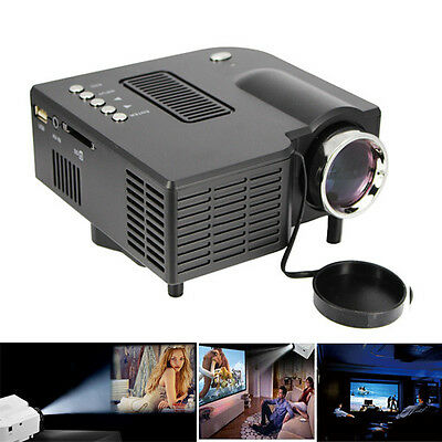 UC28 HDMI Mini Micro AV LED Digital Video Game Projector Multimedia player Home